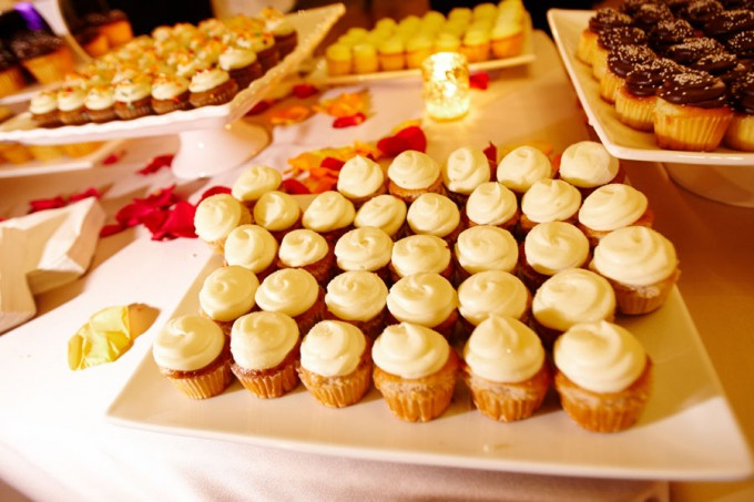 50. Germania Place Wedding. Dennis Lee Photography. Sweetchic Events. Sweet Mandy B's Cupcake Table.