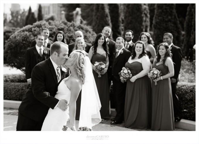 17. Blackstone Hotel Wedding. Deonna Caruso Photography. Sweetchic Events. Bridal Party.Tiffany Garden.