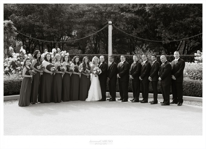 18. Blackstone Hotel Wedding. Deonna Caruso Photography. Sweetchic Events. Tiffany Garden.