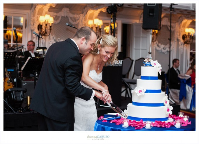41. Blackstone Hotel Wedding. Deonna Caruso Photography. Sweetchic Events. Cake Cutting.