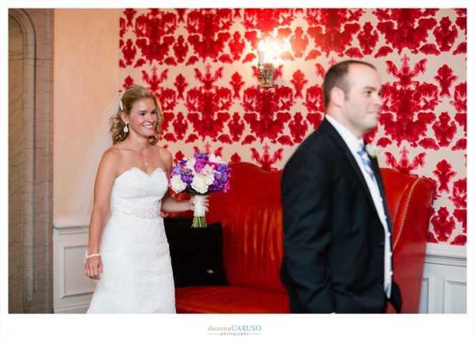 5. Blackstone Hotel Wedding. Deonna Caruso Photography. Sweetchic Events. First Look.