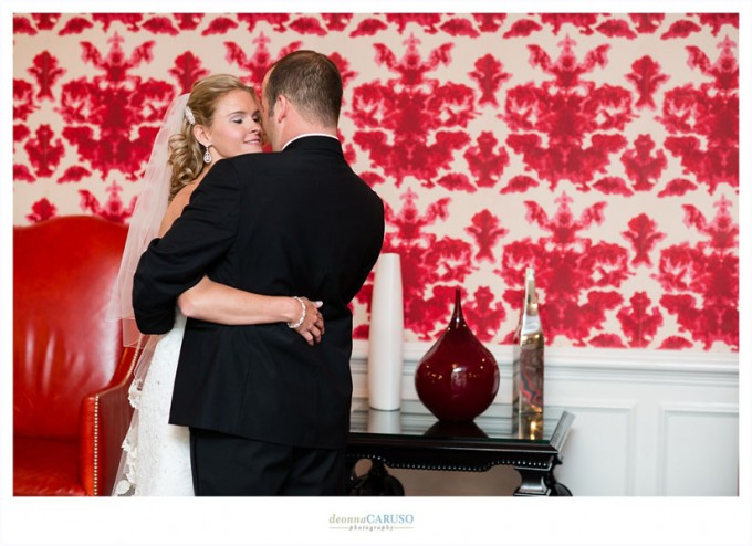 6. Blackstone Hotel Wedding. Deonna Caruso Photography. Sweetchic Events. First Look.