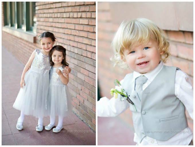 21. Fulton's On The River Wedding. Summer Jean Photography. Sweetchic Events. Flower Girls. Sequin Flower Girl Dresses. Ringbearer. Grey Ringerbearer Suit.