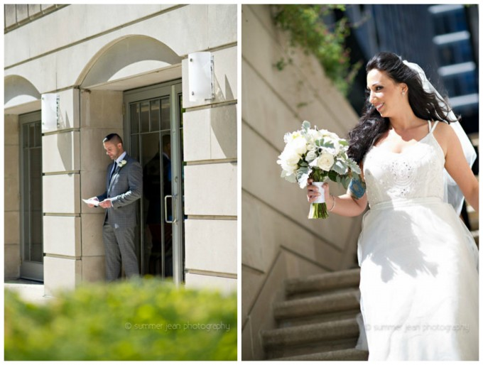 9. Fulton's on the river Wedding. Summer Jean Photography. Sweetchic Events. Larkspur. First Look. Westin River North