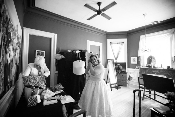 1. Keith House Wedding. Historic Home Wedding. The Way We Click. Sweetchic Events. Bride getting ready.