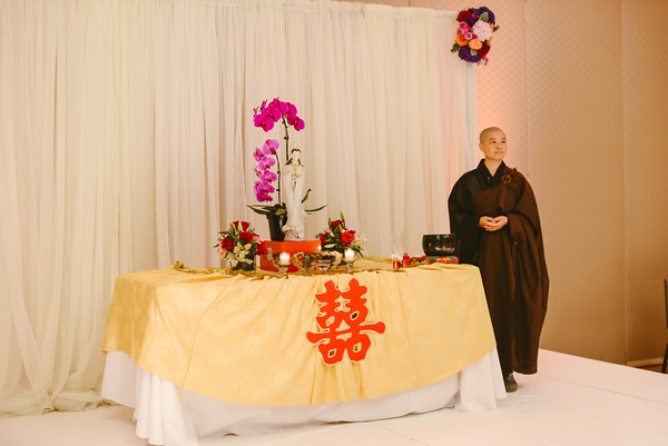 16.  Intercontinental Ohare Wedding. Fragola Productions. Sweetchic Events. Buddhist Ceremony. Double Happiness.