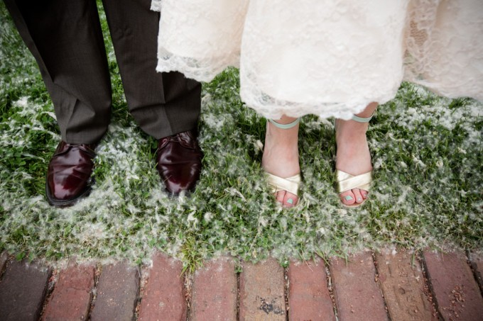 17. Keith House Wedding. Historic Home Wedding. The Way We Click. Sweetchic Events. Bride and Groom shoes.