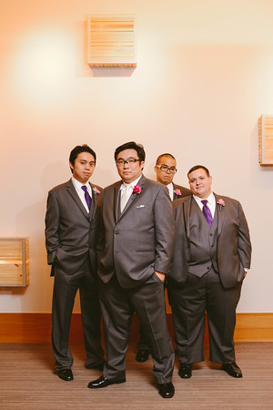 8.  Intercontinental Ohare Wedding. Fragola Productions. Sweetchic Events. Groomsmen.