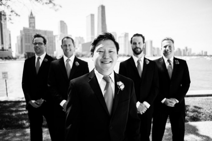 12. Room 1520 Wedding. Sweetchic Events. Studio Finch. Groomsmen. Olive Park