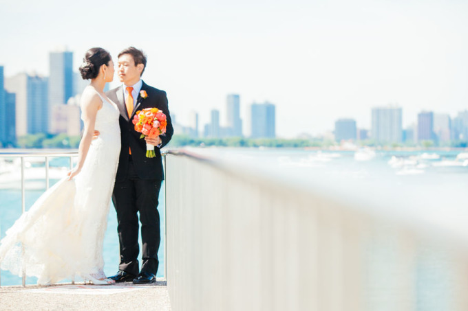 16. Room 1520 Wedding. Sweetchic Events. Studio Finch. Olive Park. Chicago Skyline. Modern Vintage. Summer.