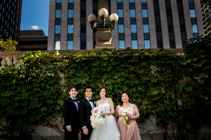 14. Langham Chicago Wedding. Steve Koo Photography. Sweetchic Events. Chicago Riverwalk. Urban Wedding.