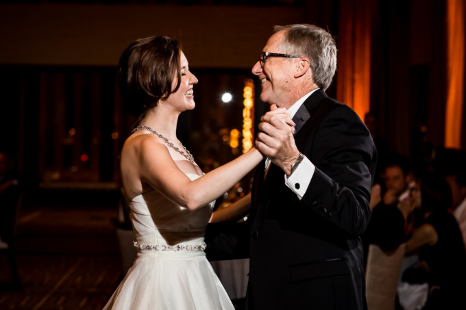 31. Langham Chicago Wedding. Steve Koo Photography. Sweetchic Events. Father Daugther Dance.