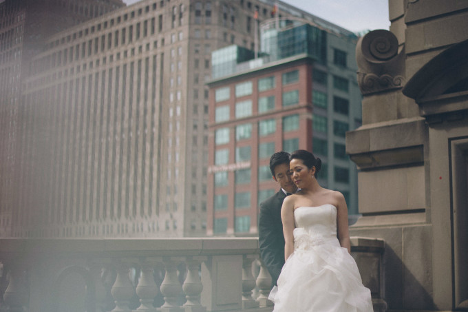 30. Rookery Wedding. This is Feeling Photography. Sweetchic Events. Chicago River. Architectural. Bridge.