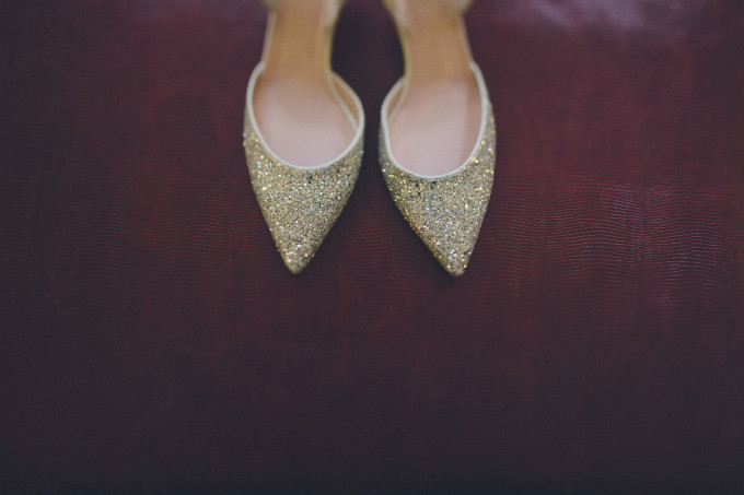 7. Rookery Wedding. This is Feeling Photography. Sweetchic Events. Kate Spade. Bridal Shoes. Sparkle. Glitter.