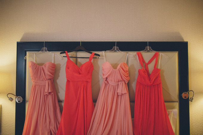 8. Rookery Wedding. This is Feeling Photography. Sweetchic Events. Coral Bridesmaids Dresses.
