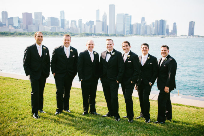 22-blackstone-chicago-wedding-pen-carlson-sweetchic-events-groomsmen-skyline-tux-classic