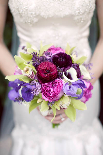 24. Alicia & Kris. Newberry Library Wedding. iLuvPhoto. Sweetchic Events. Fluer. Purple Calla Lillies, Garden Rose Bridal Bouqet