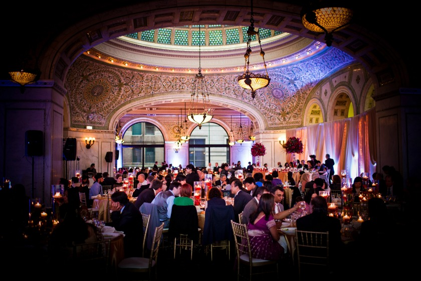 25 Chicago Cultural Center Chinese Indian Wedding