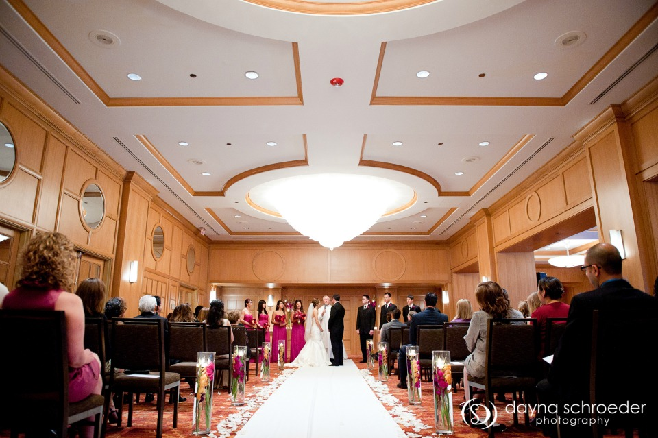 25 Westin River North chicago wedding sweetchic events dayna schroeder ceremony ballroom