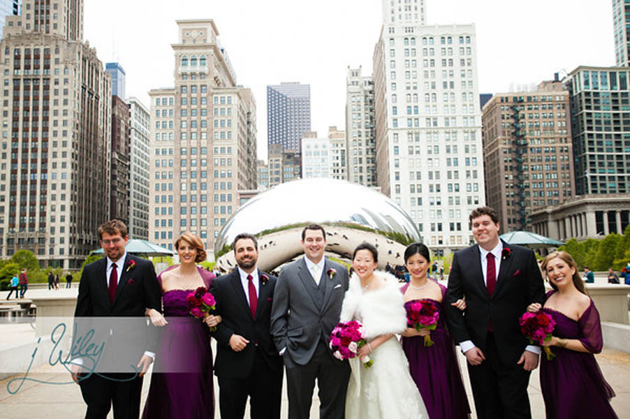 25. Anne. Rick The Rookery. J Wiley Photography. Sweetchic Events. Bridal Party Millenium Park