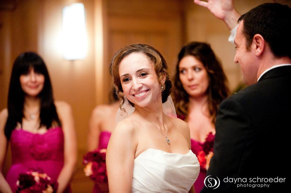 26 Westin River North chicago wedding sweetchic events dayna schroeder ceremony