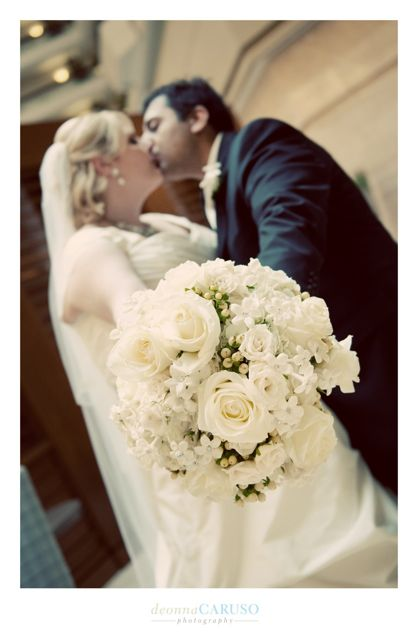 26. Sarah & Rajan. Westin Itasca Wedding. Deonna Caruso Photography. Sweetchic Events. Kim Oldis. White Rose Bouquet