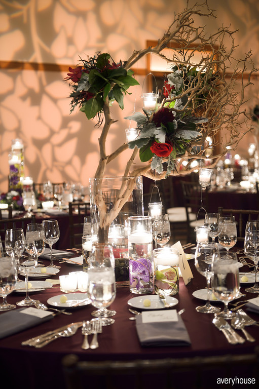 34. The Ivy Room. Avery House. Sweetchic Events. Flower Firm. Accents of Succulents, Purple Dahlias, Red Roses, Rununculus, berries.