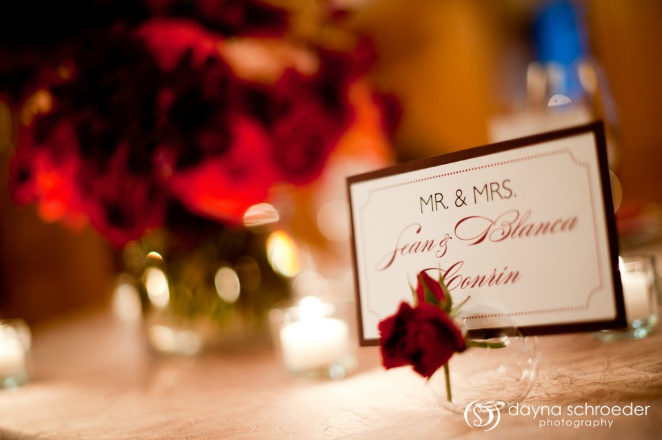 38 Westin River North chicago wedding sweetchic events dayna schroeder mr. and mrs. sign