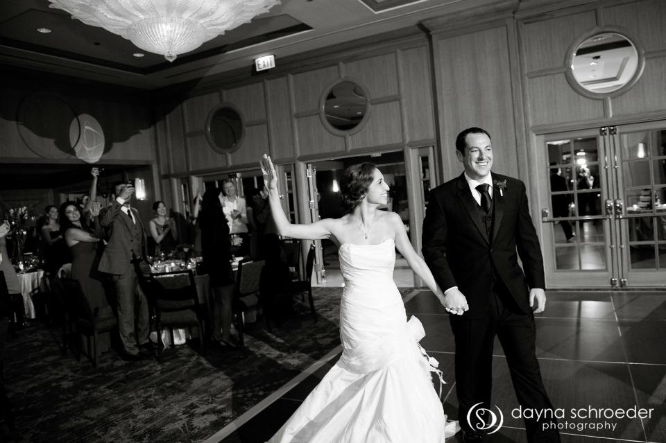 39 Westin River North chicago wedding sweetchic events dayna schroeder receptionentrance