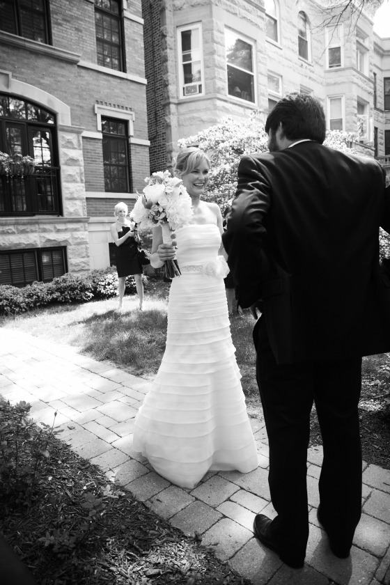 4 Sweetchic Brian Kinyon chicago Rookery wedding First Look