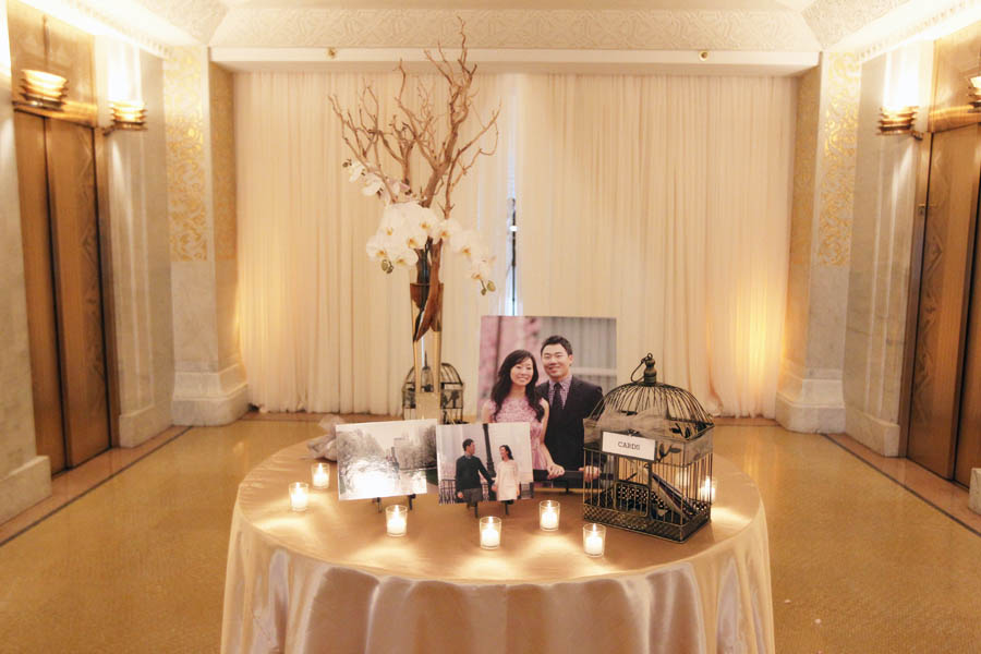 40. Leslie.James.RookeryWedding. Kenny Kim Photography. Sweetchic Events. Gift.Card Table.