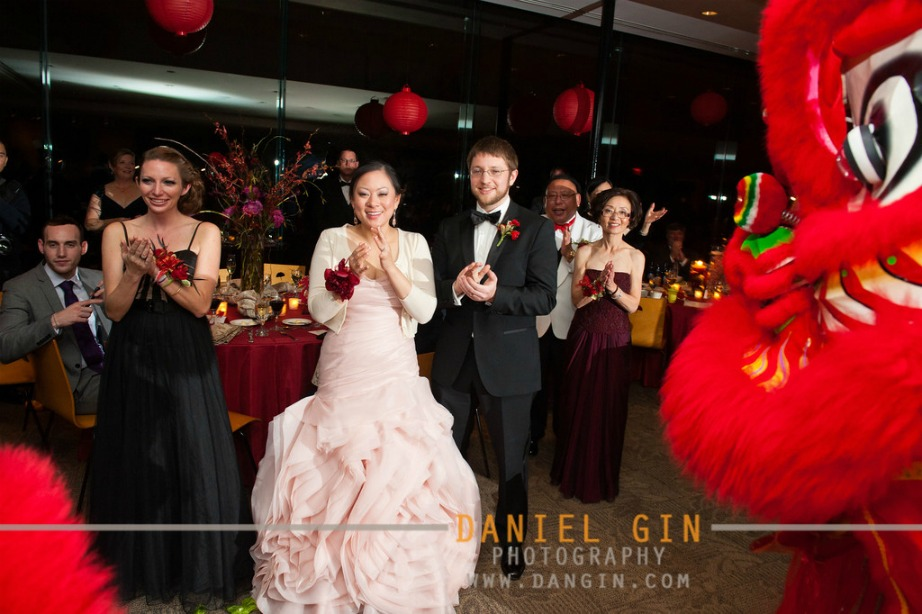7 Morton Arboretum wedding Dan Gin photography Sweetchic Events lion dance 3