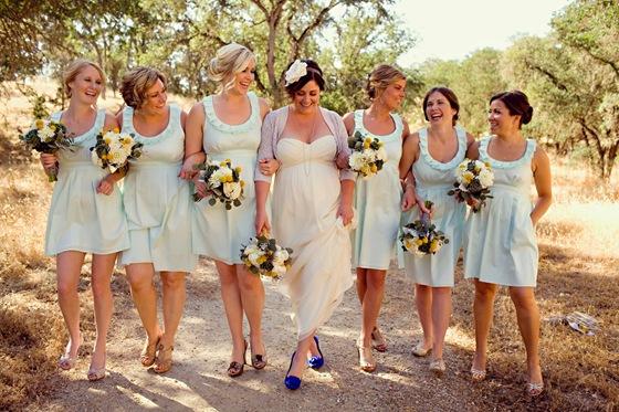 Amanda Archer Blue Bridesmaids Dresses 2