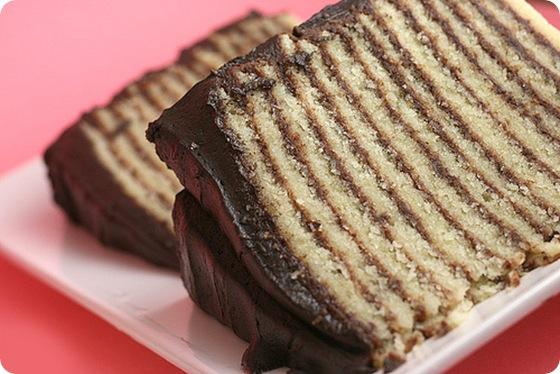 Bakerella 12 layer cake sliced