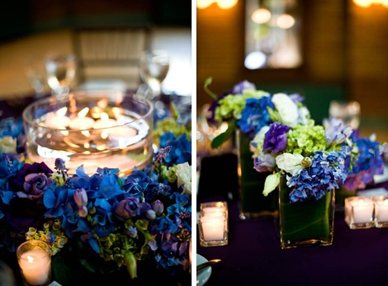 Chin Stephen Cafe Brauer Chicago wedding purple blue Scarlet Petal Yazy Jo Sweetchic Events