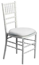 Chiviari-Chair-white chair pad