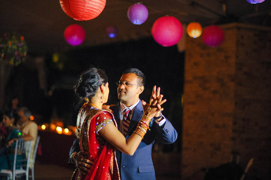Indian Wedding. Botanic Gardens Wedding. Fragola Productions. Sweetchic Events. First Dance