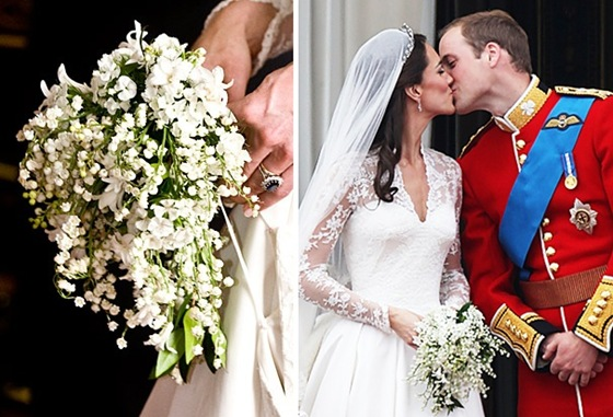 Kate Middleton Bouquet  Source ,  Source
