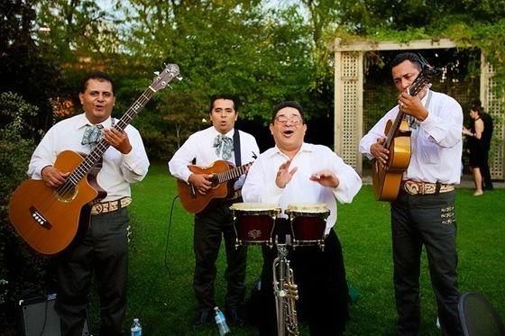 Mexican mariachi band galleria marchetti
