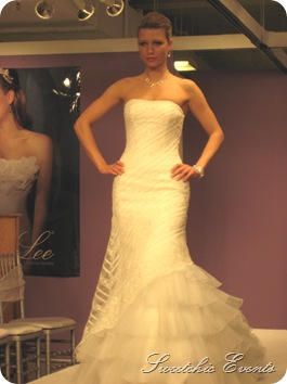 Mori Lee ruffle gown 1
