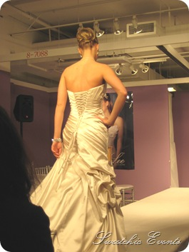 Mori Lee satin back