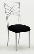 Silver chameleon chair