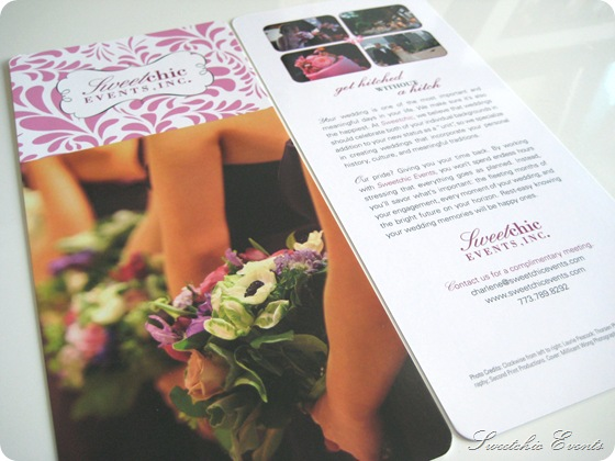 Sweetchic new rack cards