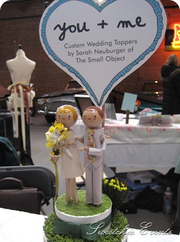 The Small Object cake toppers 2