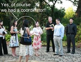 Wedding Coordinator Ceremony rehearsal