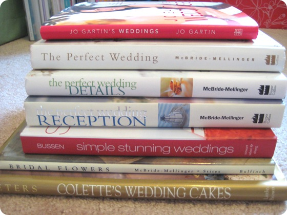 Wedding planning books