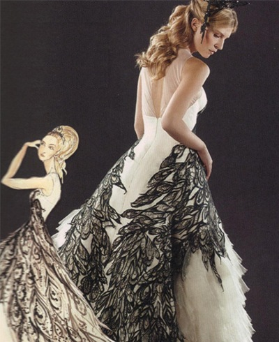 fleur delacour alexander mcqueen wedding dress Source