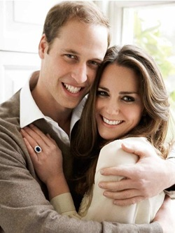 Just for fun, a picture of affianced William & Kate, by  Mario Testino