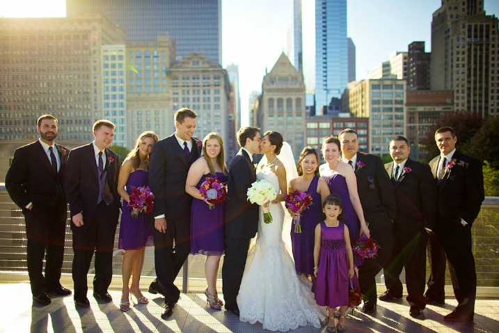steve-koo_bertha_nick_wedding sweetchic events purple bridal party