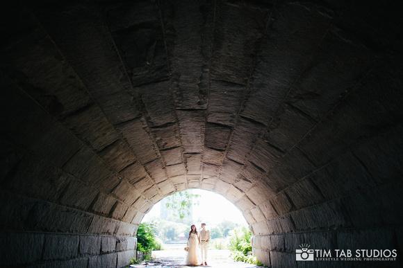3. A New Leaf Wedding. Tim Tab Studios. Sweetchic Events. Intimate Garden Wedding. Lincoln Park. Tunnel. Chicago..jpg